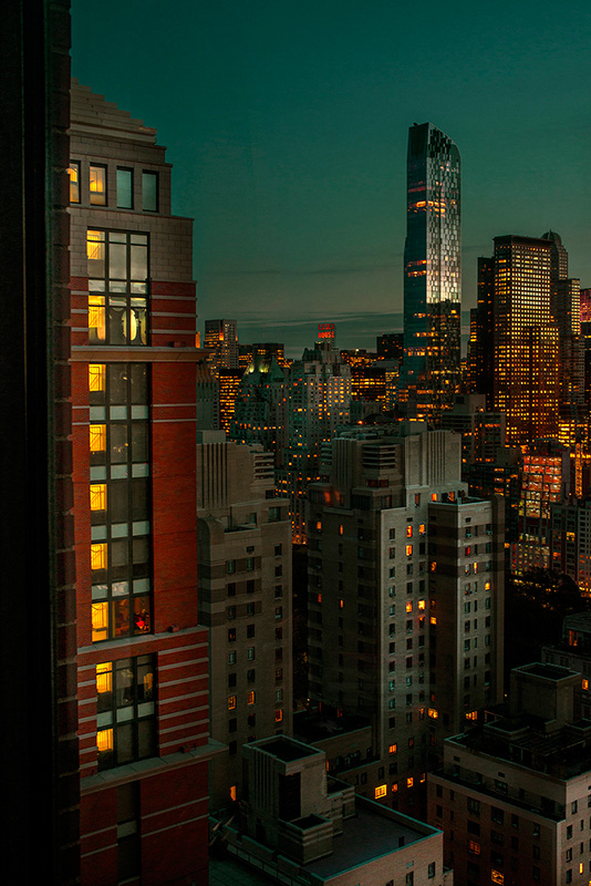 Jean Michel Berts -  New York Color 2