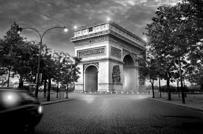 Jean Michel Berts -  Arc de Triomphe