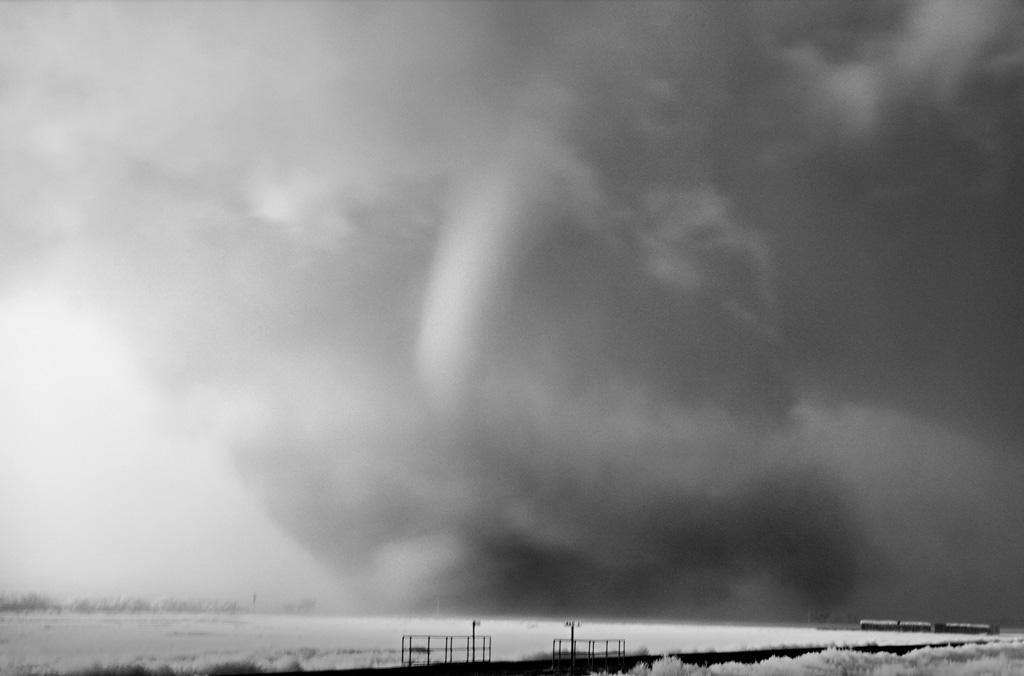 Tornado in Rain