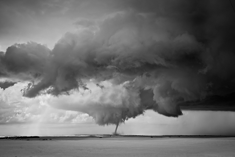 Tornado over Plains