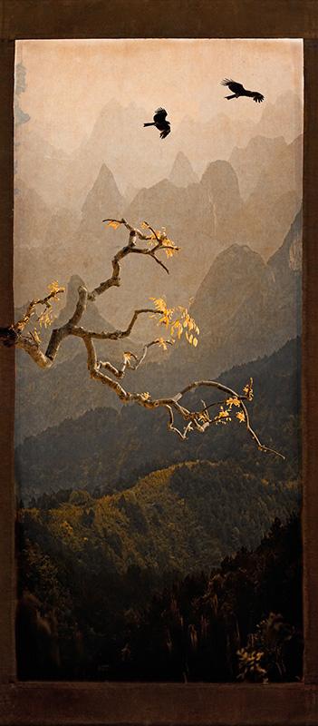 Mountain Scroll