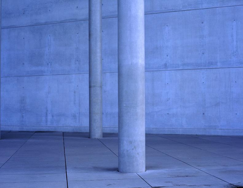 Blue Column #2