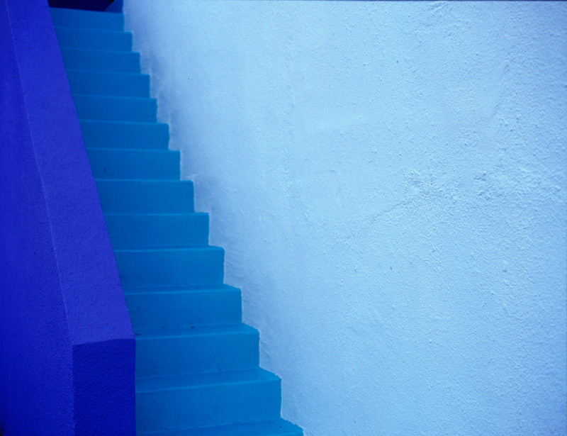 Blue Stairs 1
