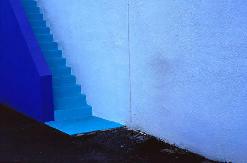 Blue Stairs 2