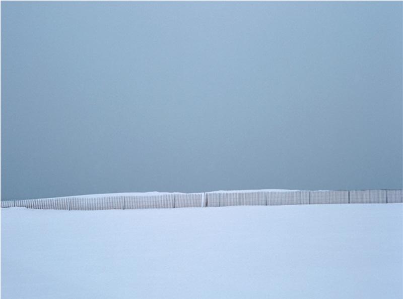 Cyan Snow Fence