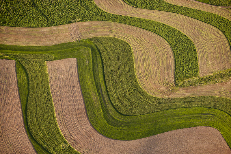Undulating Plow Patterns near Frytown, PA