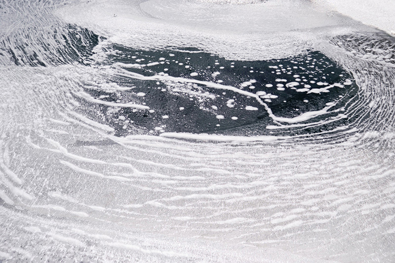Ice Patterns II, Sodus Bay, NY