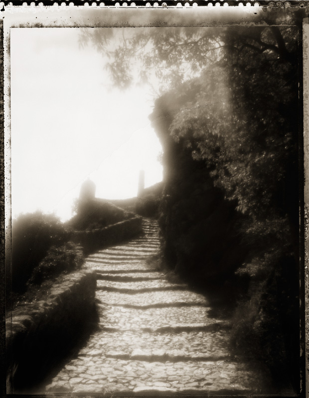 Stairway, Moustiers, France