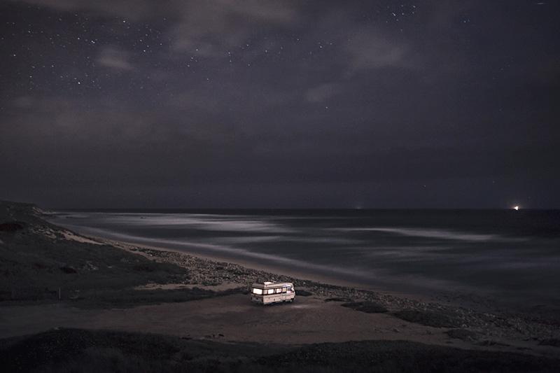 A Van in the Sea 11, Praia dos Aivados