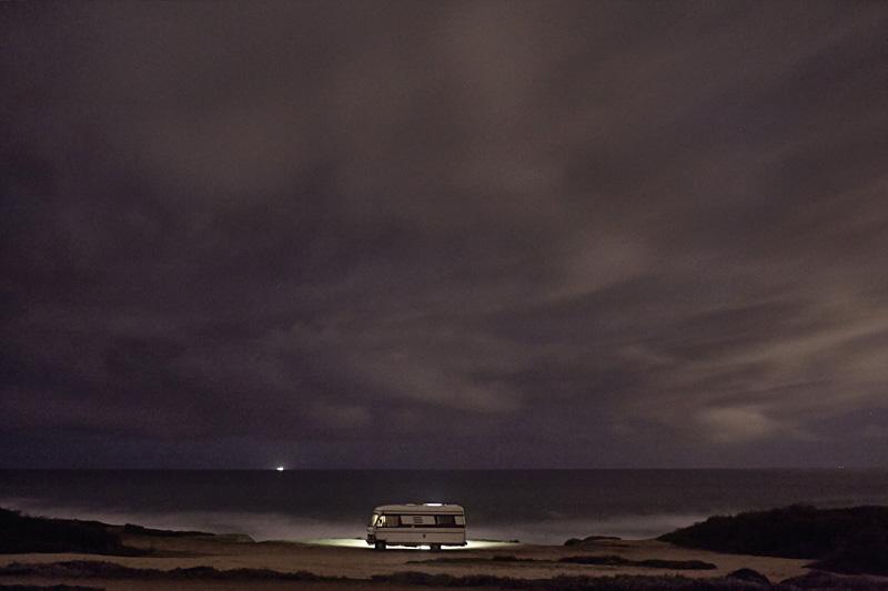 A Van in the Sea 24, Praia do Malhaò