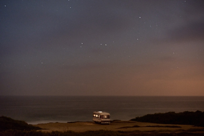 A Van in the Sea 28, Praia do Malhào