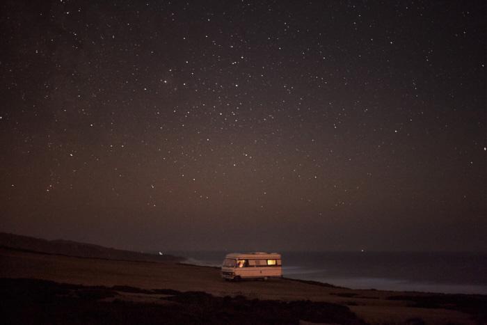 A Van in the Sea 31, Praia do Malhào