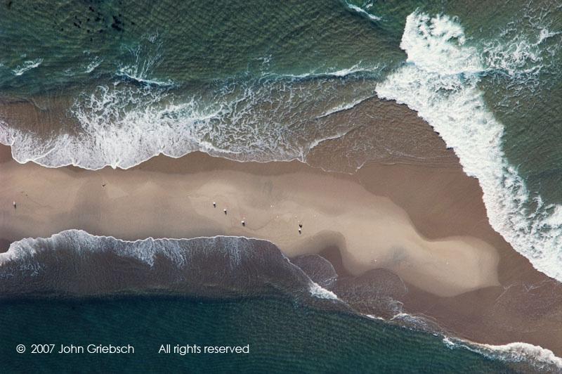 Sandbar, Waves and Seagulls, Martha's Vineyard, MA, USA.jpg