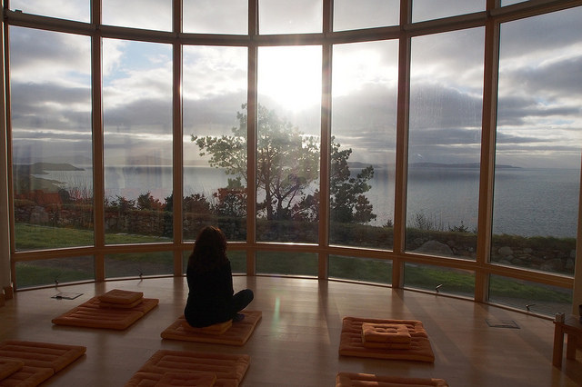 Ireland:The Spiritual Care Centre at Dzogchen Beara - The centre sits high on cliffs overlooking the Atlantic Ocean with breathtaking views of sea and sky. It offers retreats, workshops and professional training as well as personal support to those facing long-term or life-limiting illness, living with disability, or suffering from grief, stress or burnout.Dzogchen Beara website