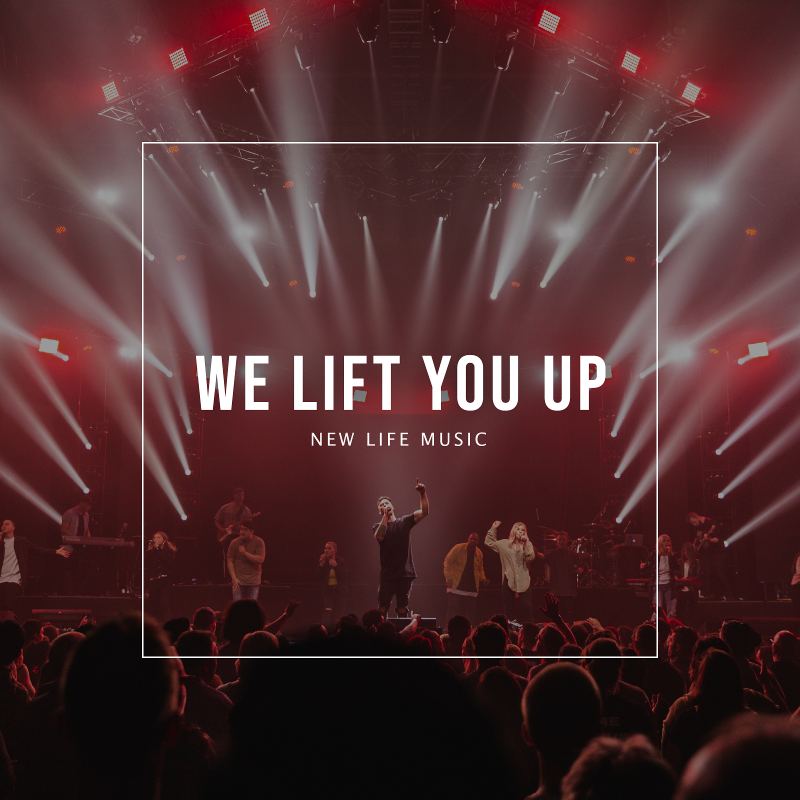 We Lift You Up Album Art