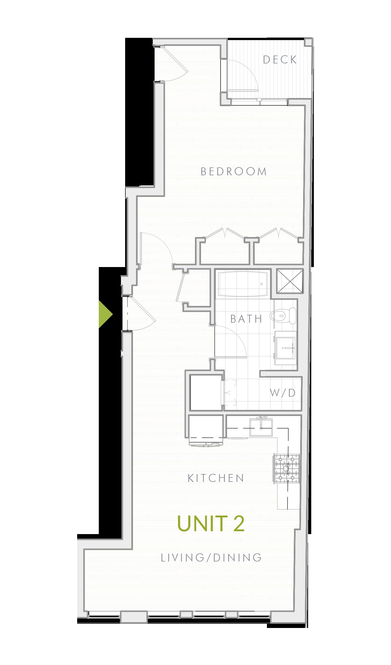 Unit 2 - List $509,000