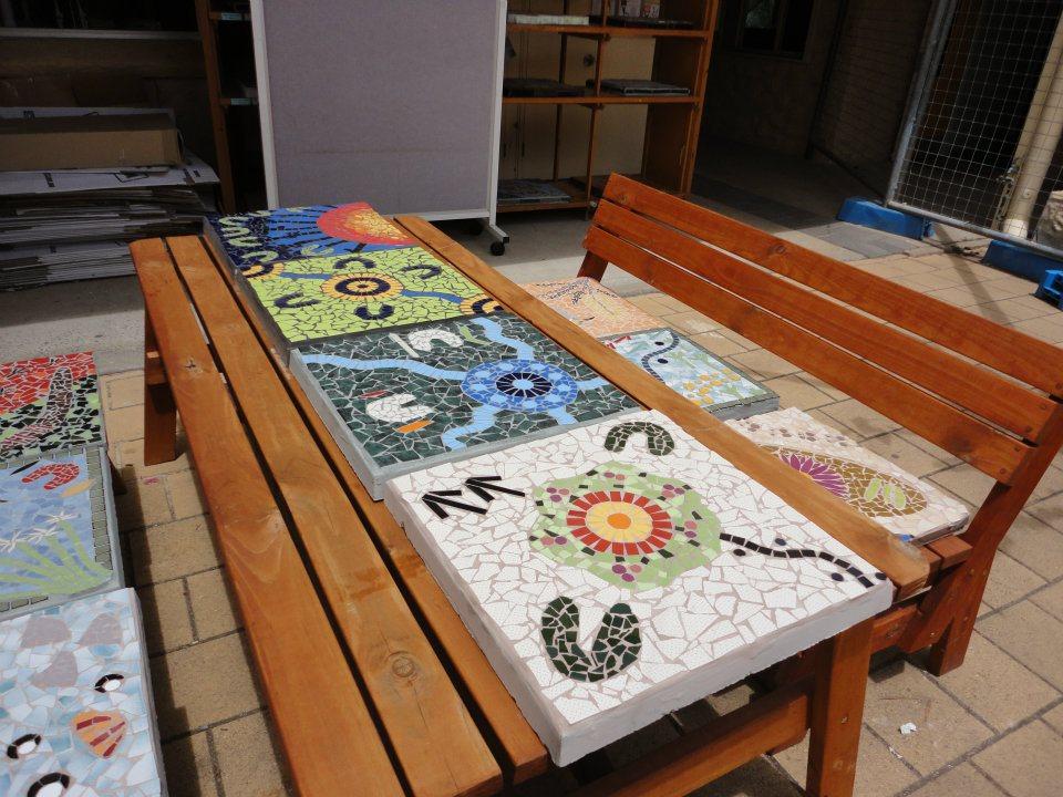 Aldinga Primary School Indigenous Mosaics
