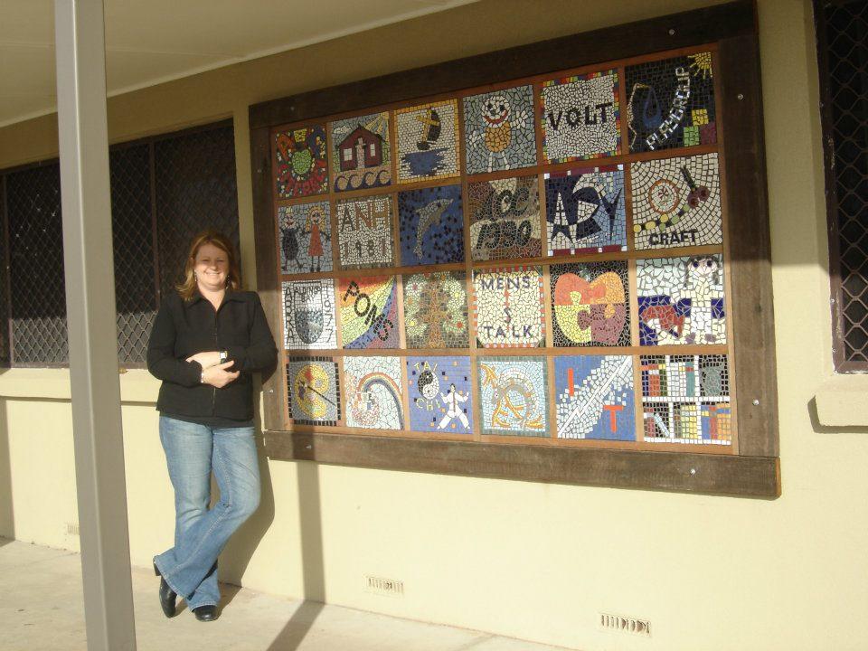Aldinga Community Centre Grid Panel Mosaic