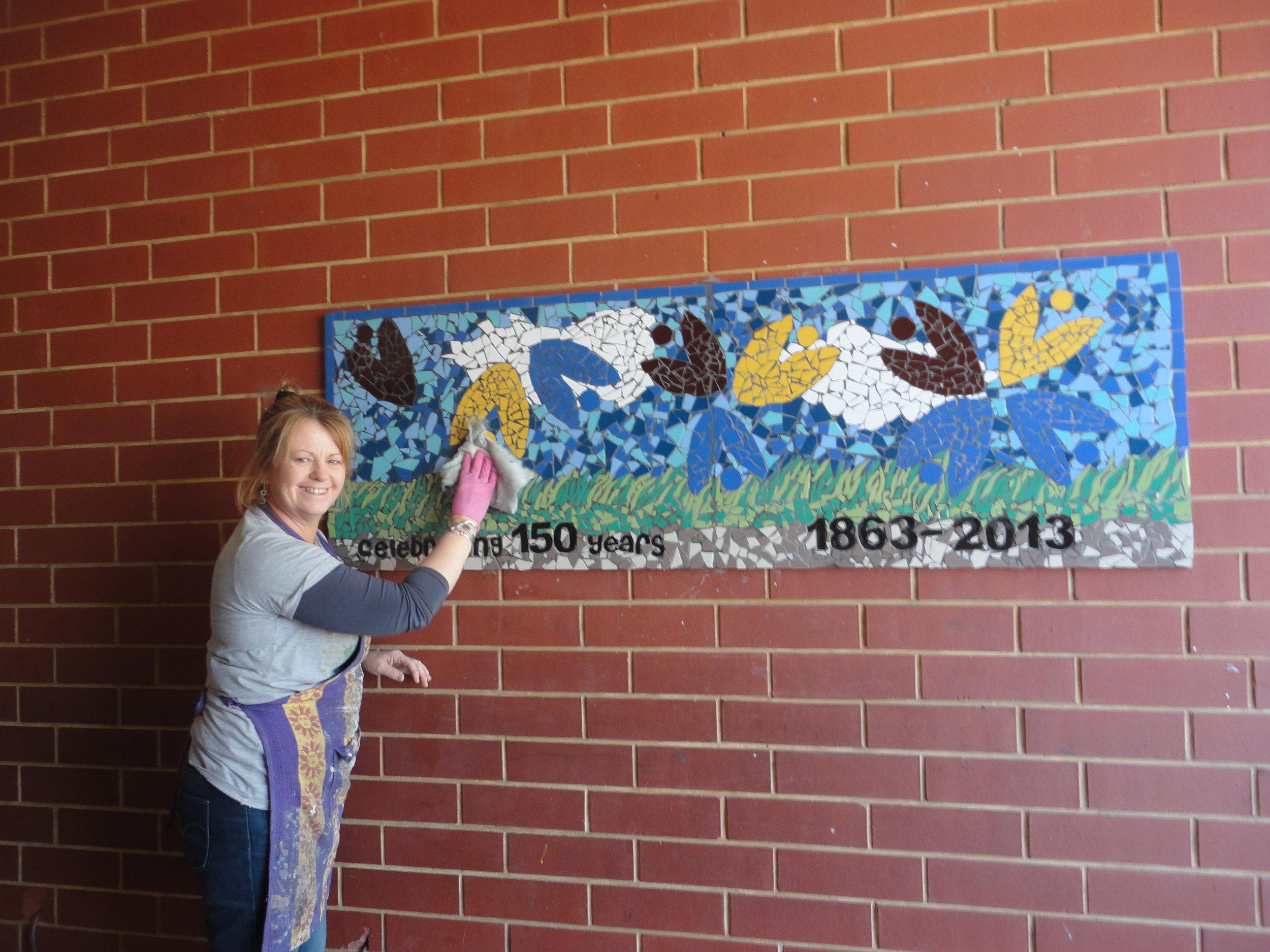 St. Josephs Primary School Commemorative Mural