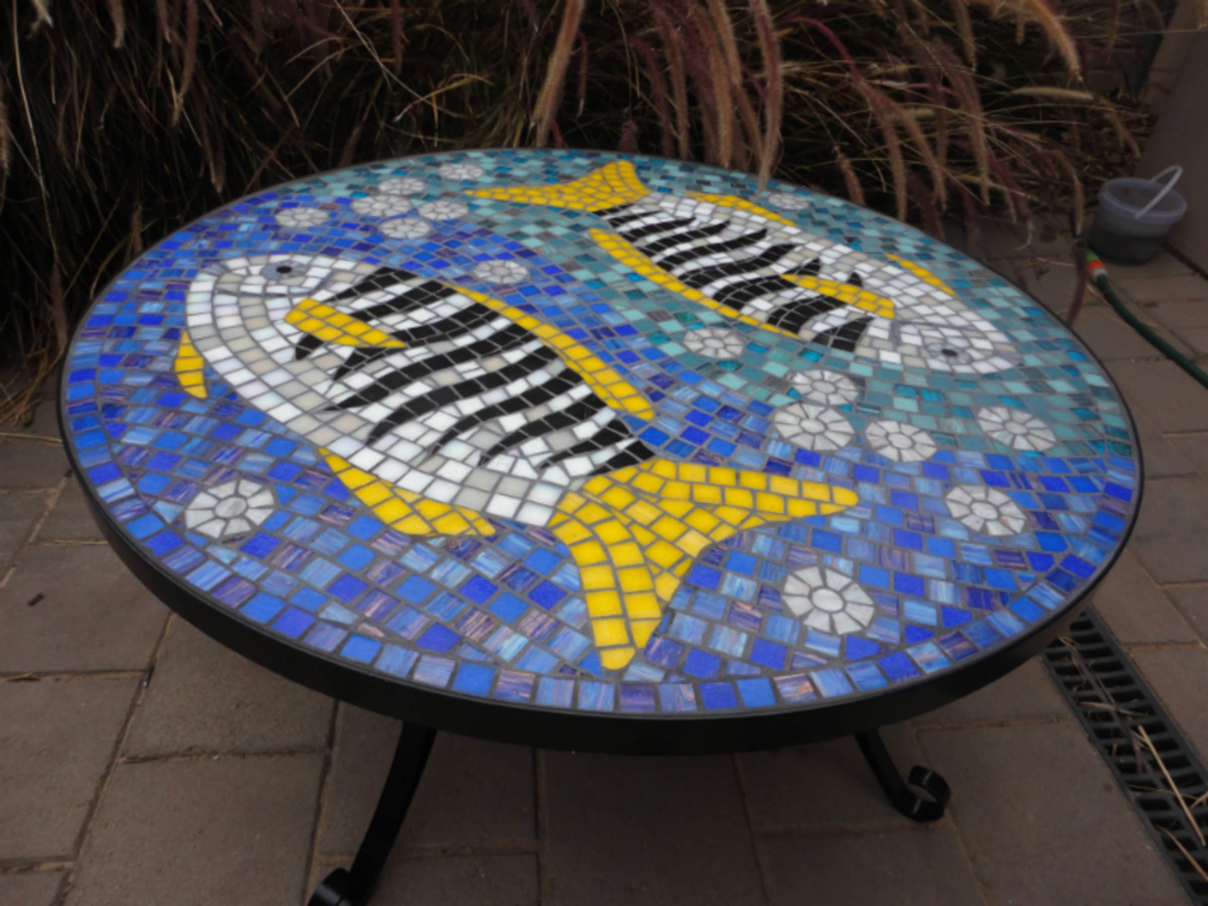 Zebra Fish Table