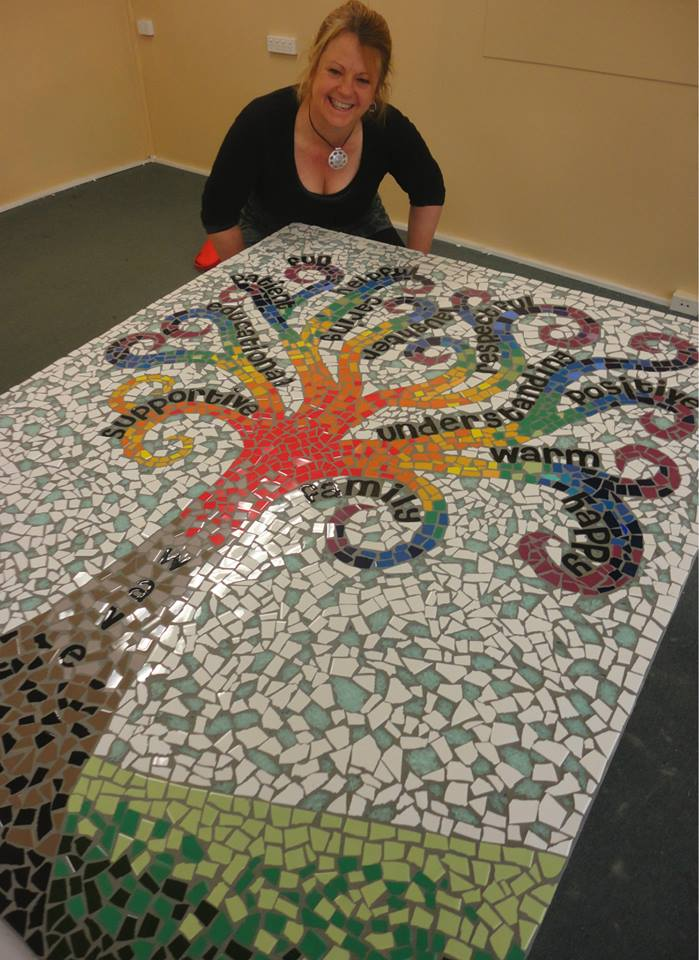 Wirreanda High School Wave Program Tree of Life Mosaic