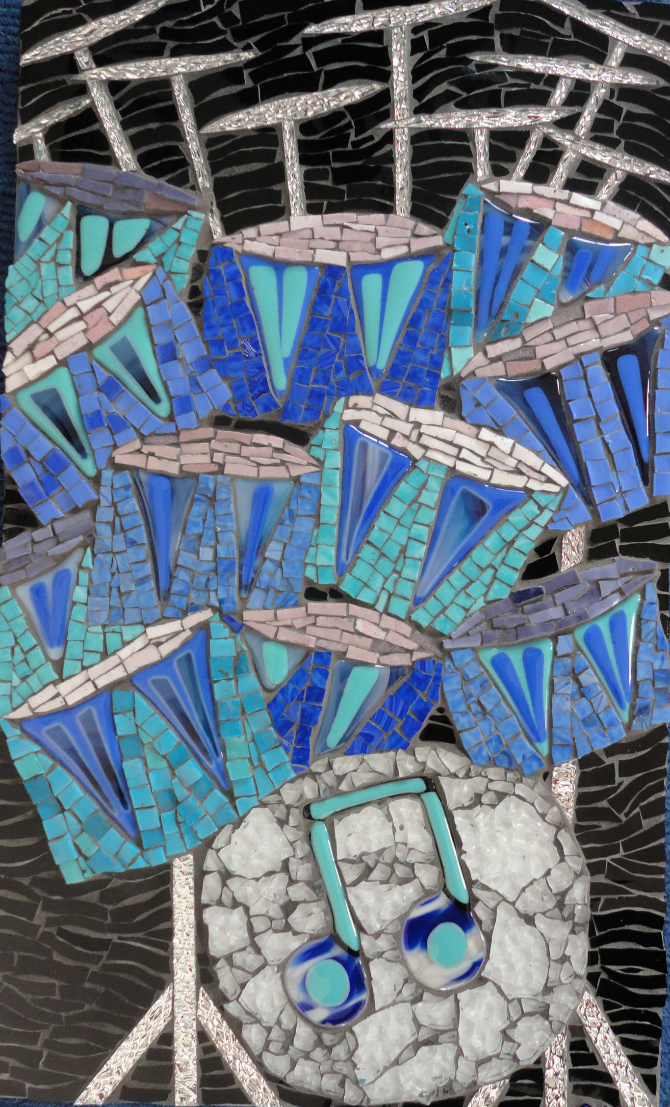 Drums (Stained Glass, Smalti, Glass Fusions, Tempered Glass, Mirror Glass)