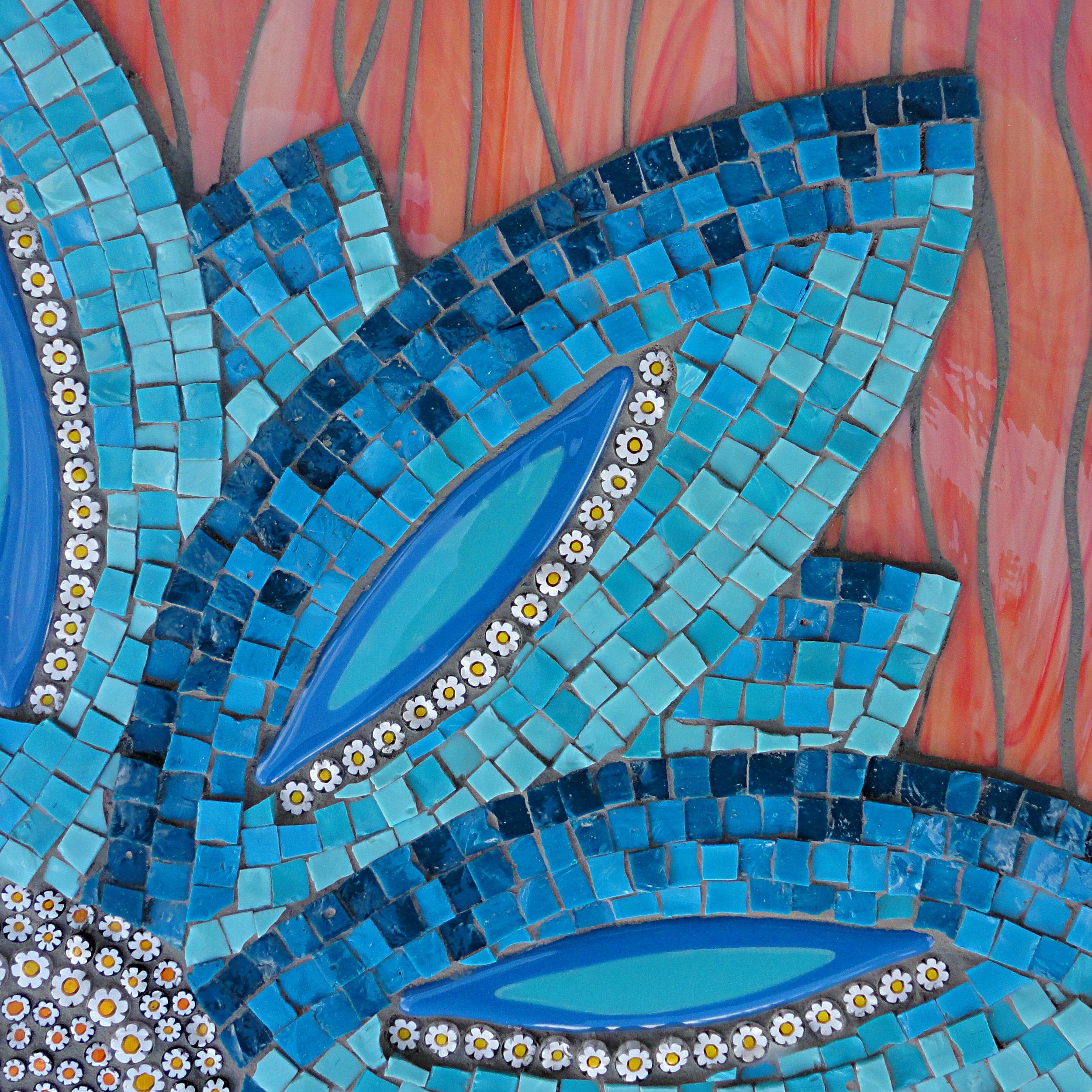 Smalti Flower (Smalti, Millefiori, Stained Glass, Glass Fusions)
