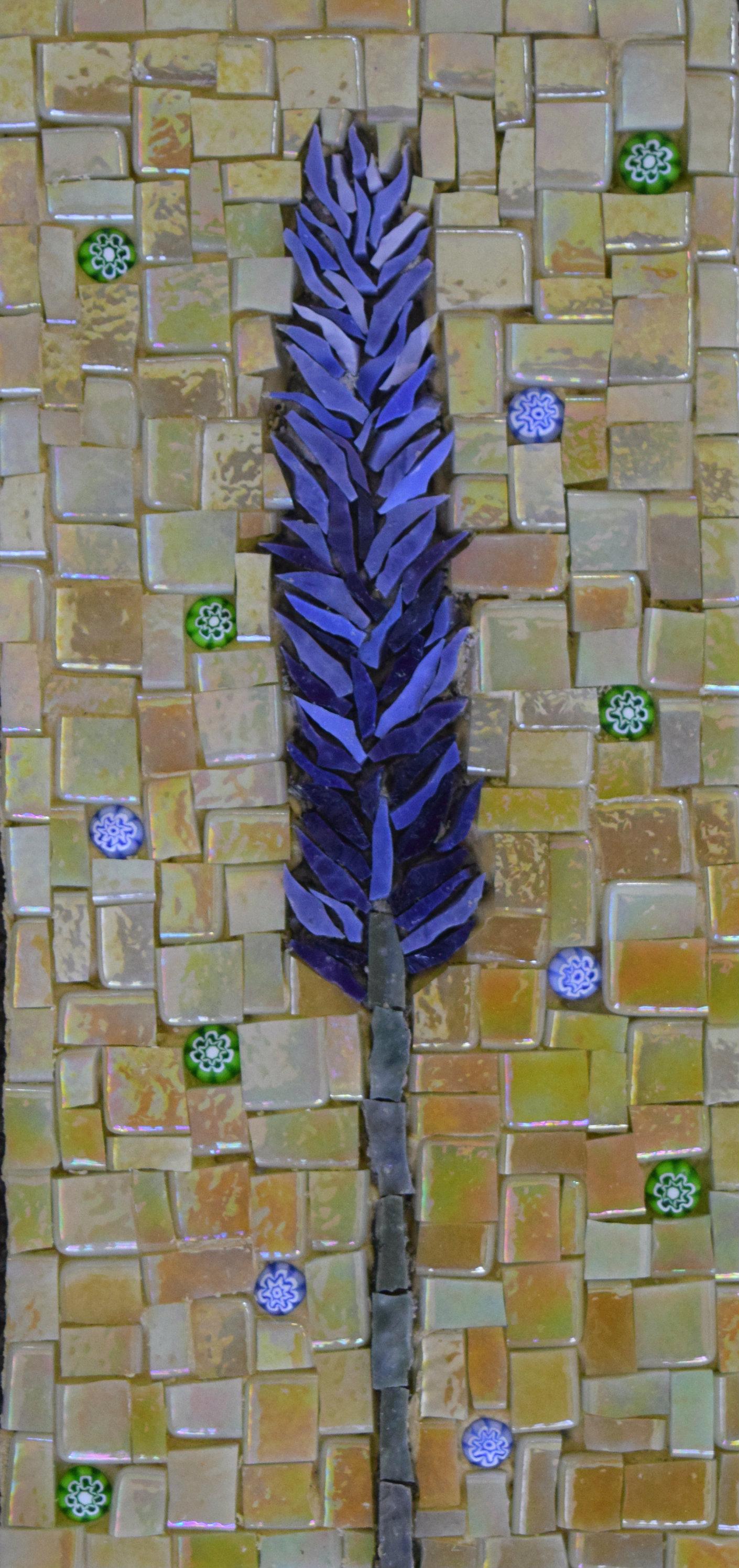 Lavender (Smalti, Millefiori, Glass Tiles)
