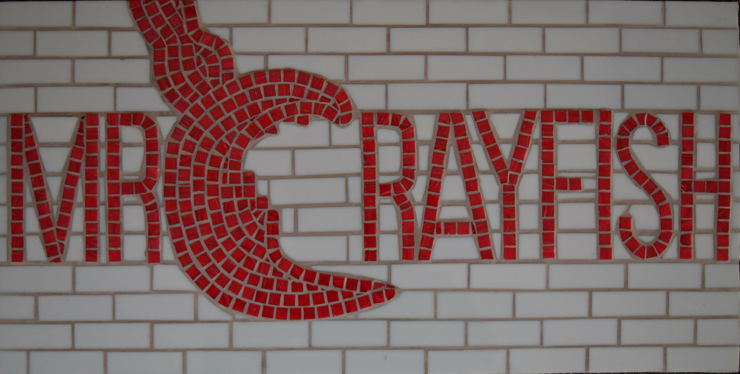 Mr Crayfish Youtube (Stained Glass, Glass Tiles)