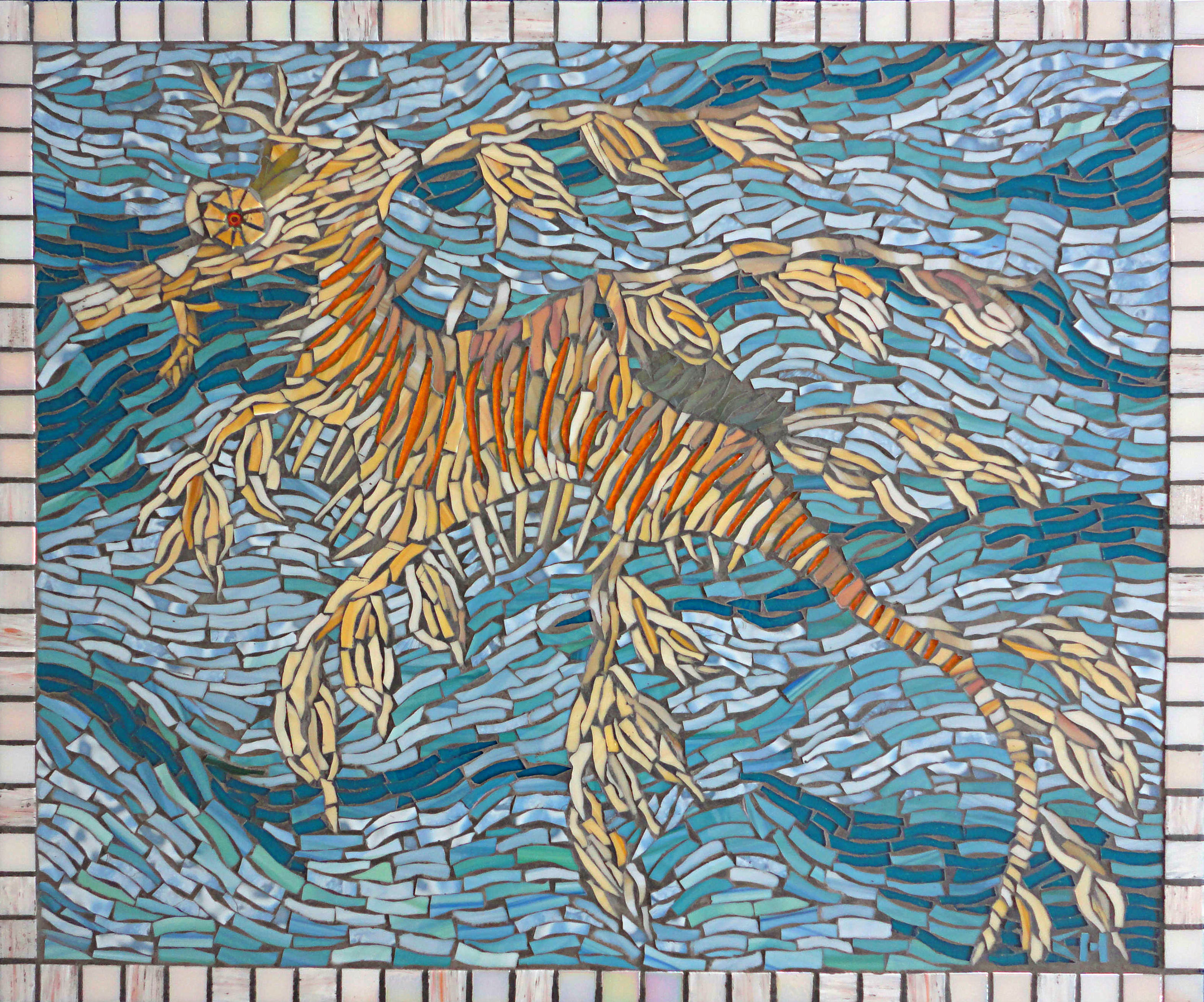 Leafy Sea Dragon (Stained Glass)