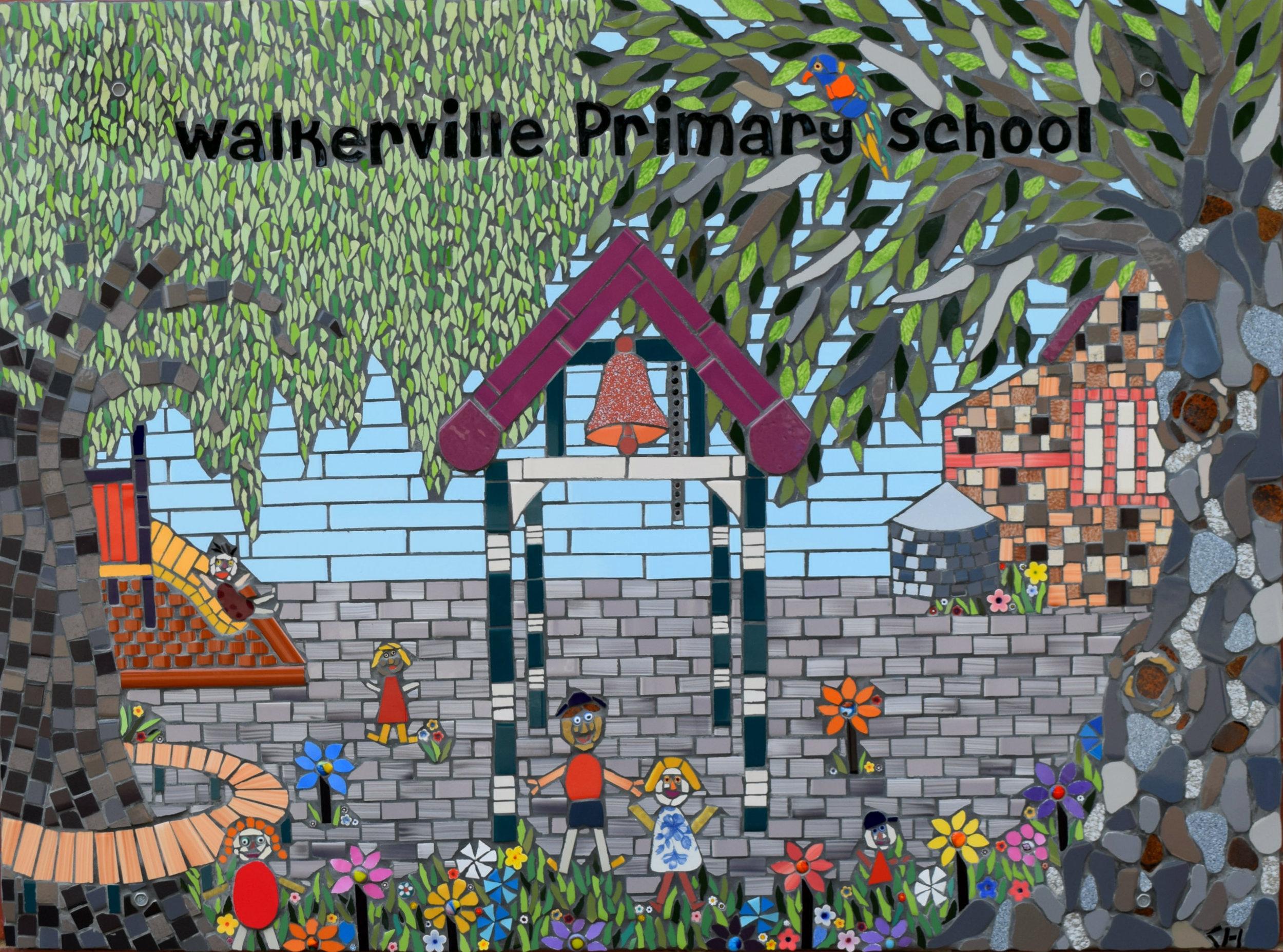 Walkerville Primary School Mural
