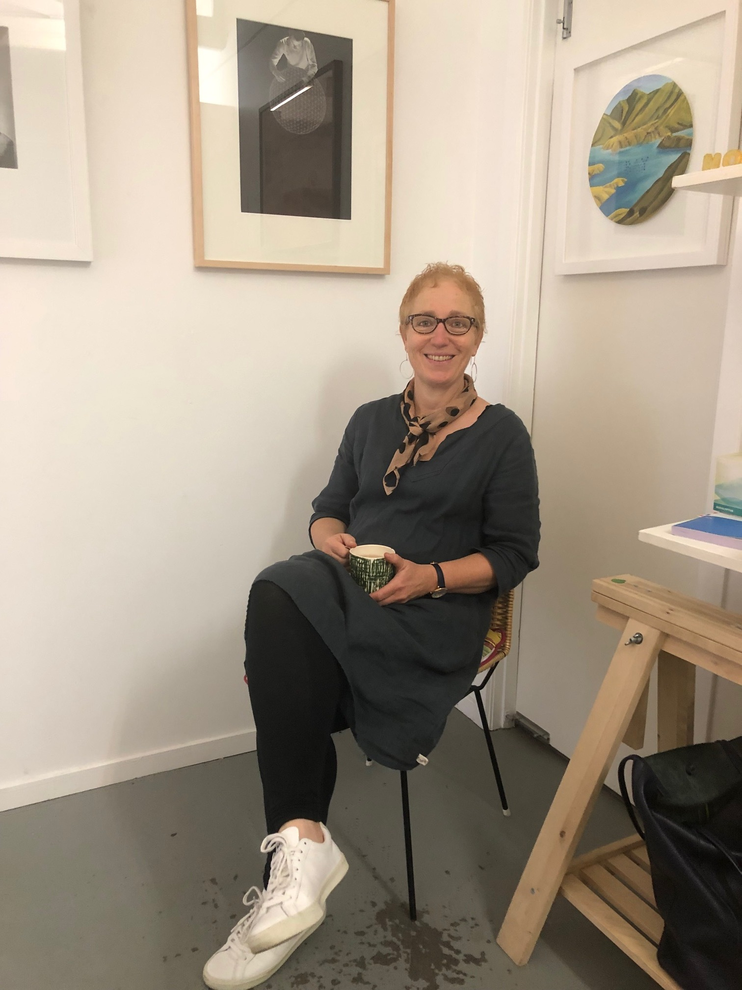 Karin Strachan - Gallery owner