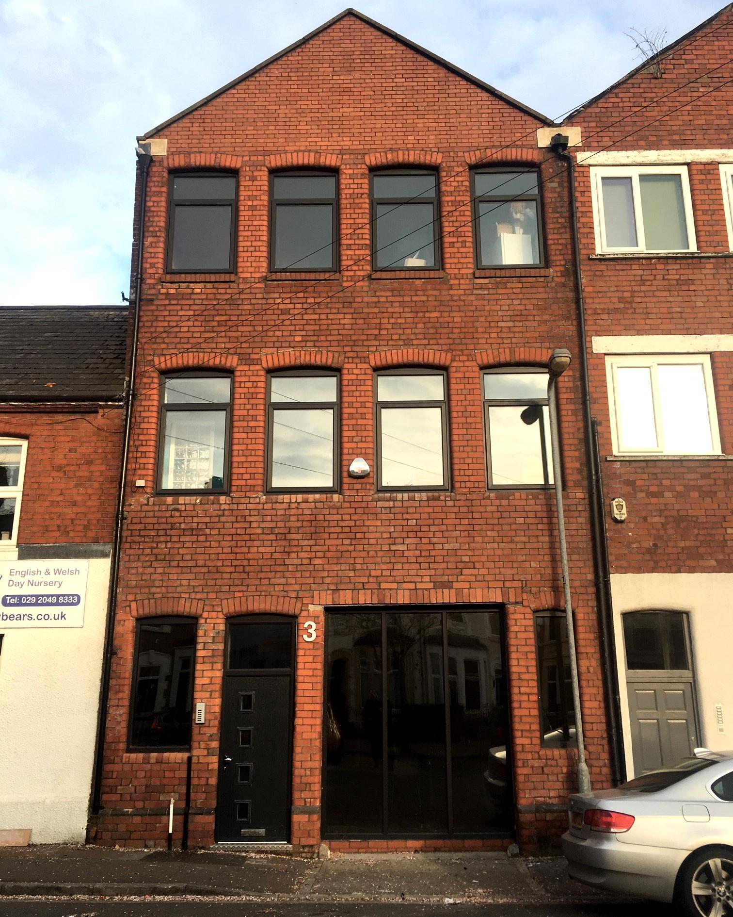 Burt Street Studios, Cardiff Bay CF10