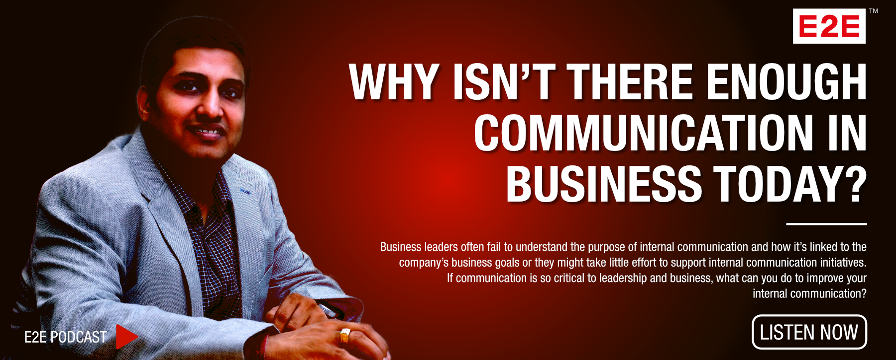 Episode 2: Why isn't there enough communication in business today?