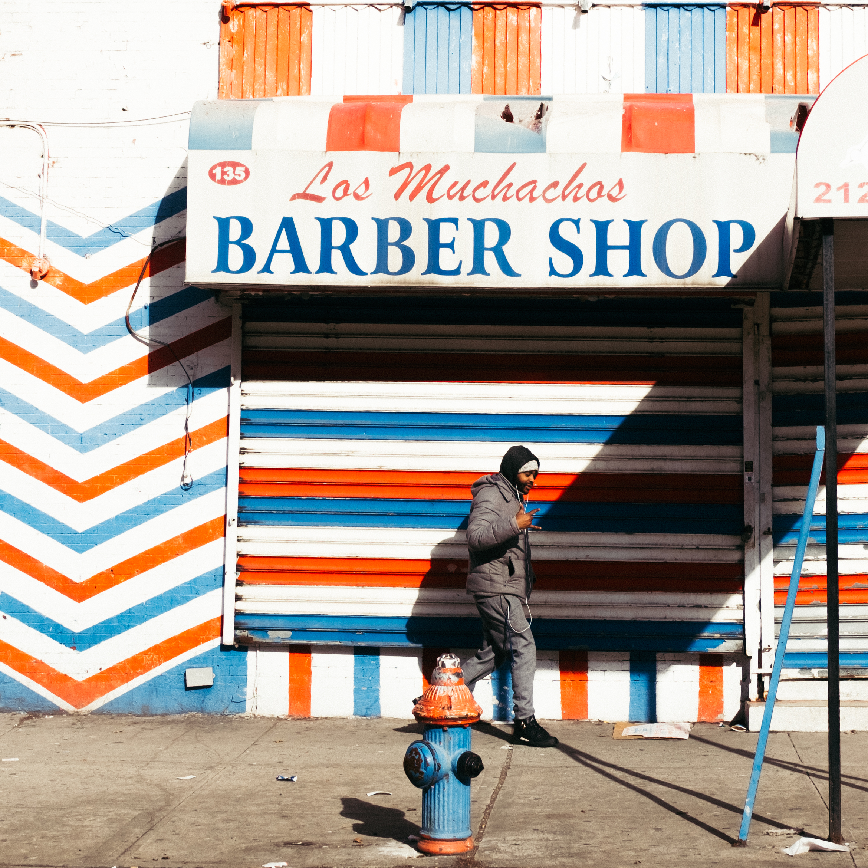 Los Muchachos Barber Shop, Harlem, New York