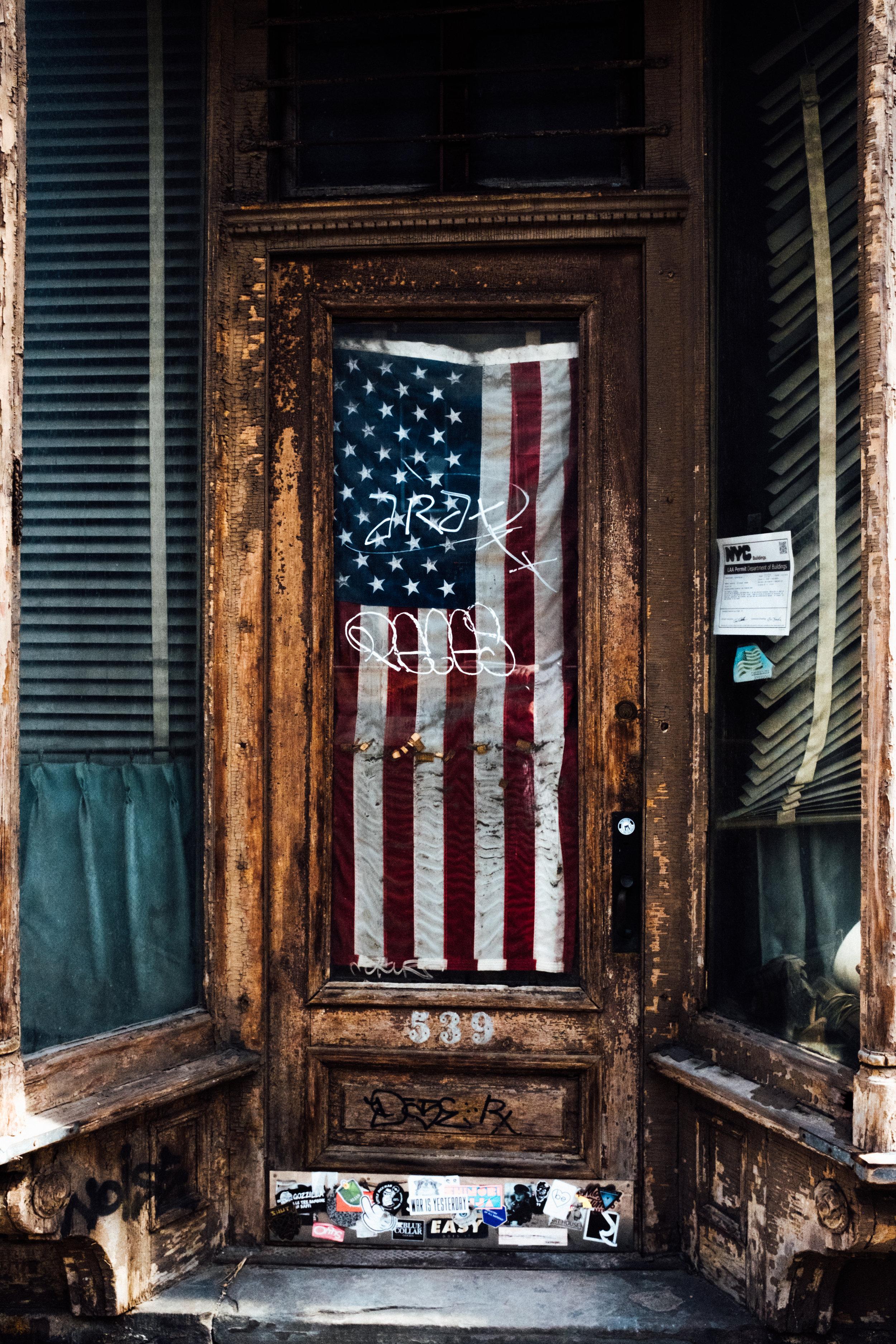 US Flag , Brooklyn, NY