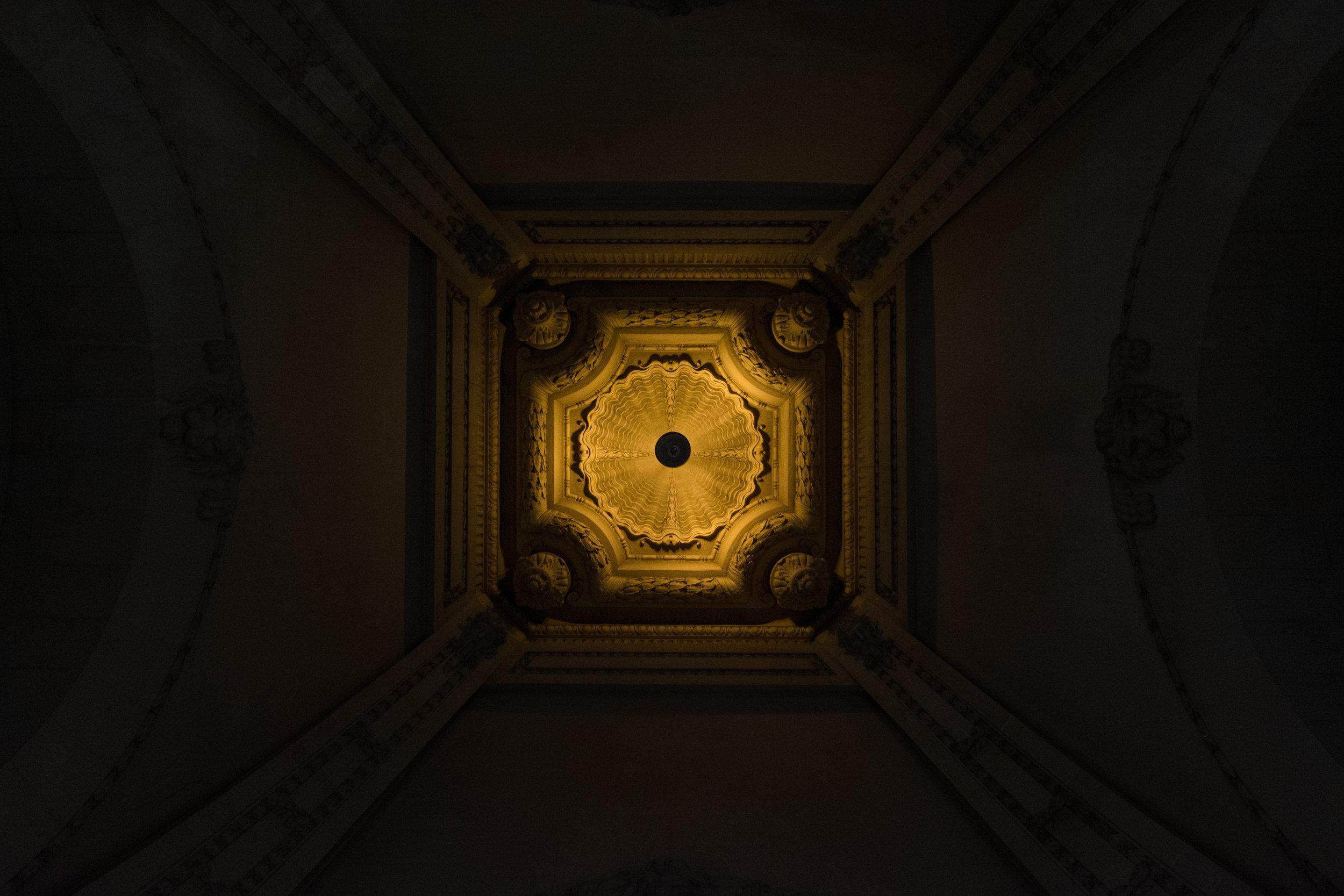 Grand Palais Ceiling , Paris