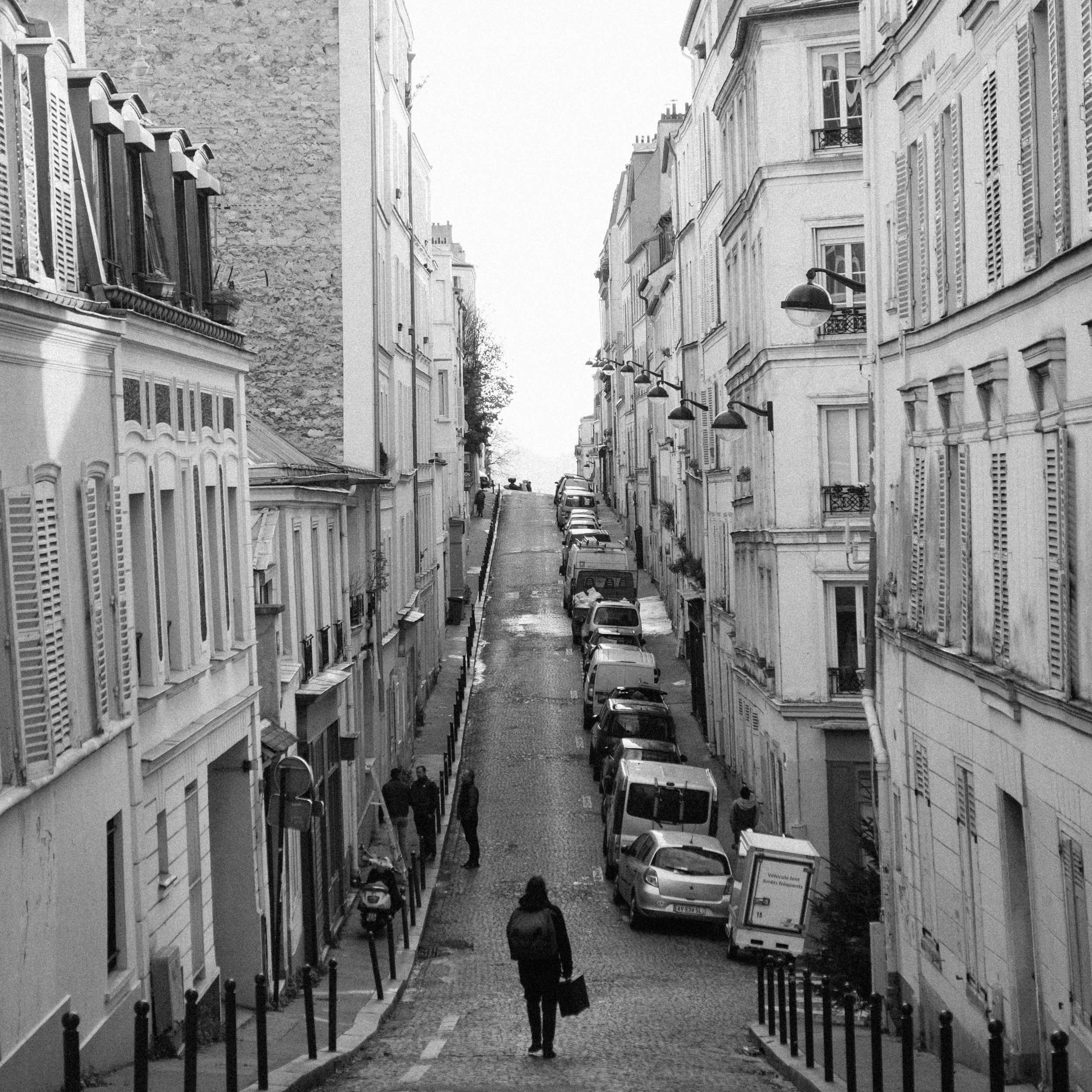 The Wanderer , Paris