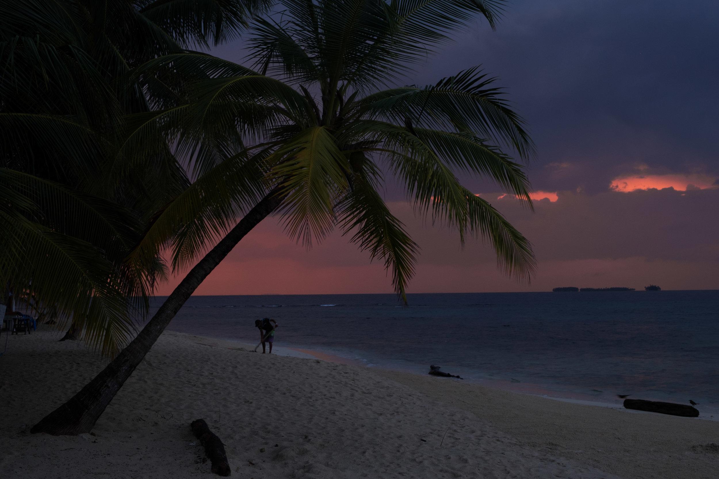 San Blas sunrise, Panama