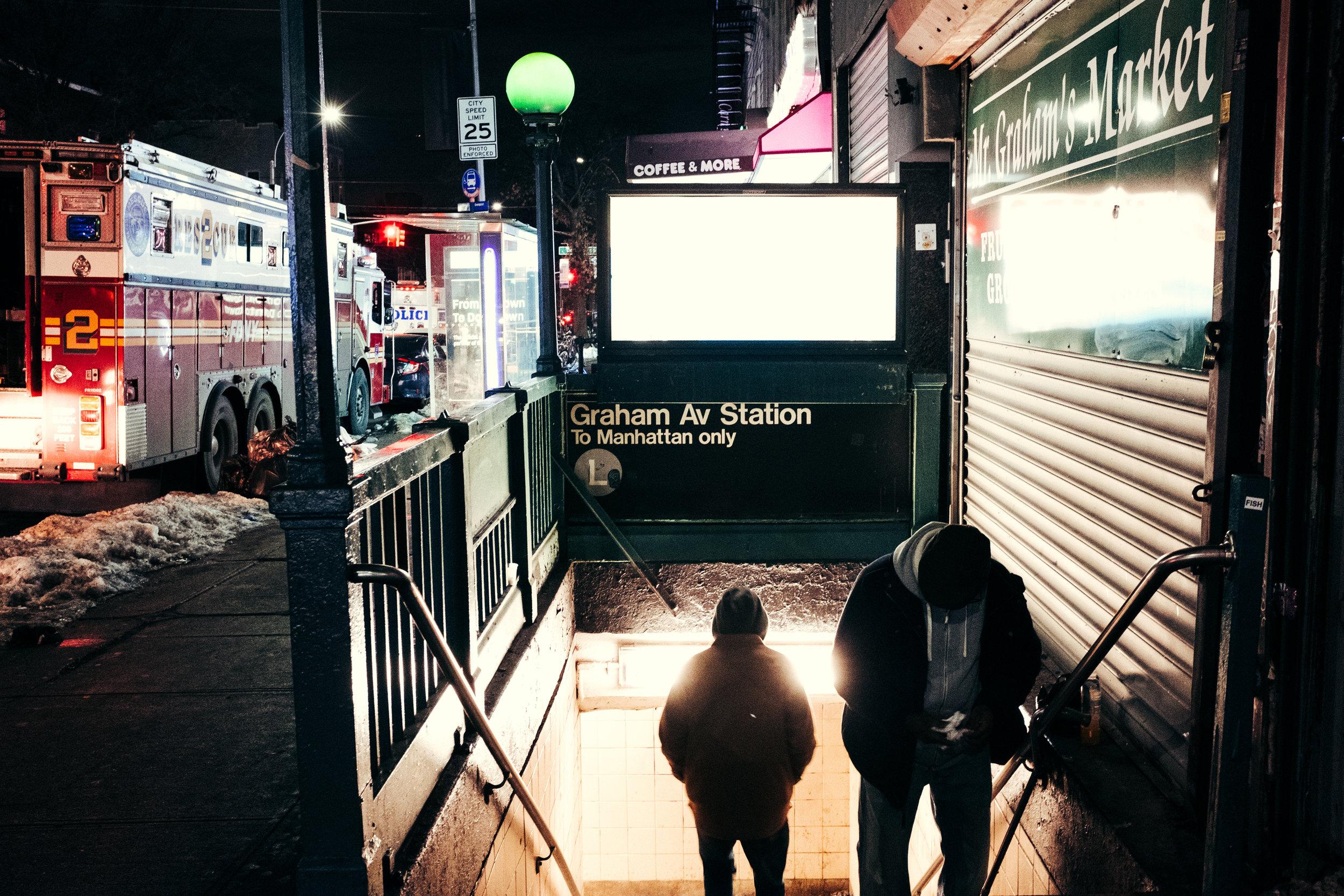 Subway Light , Brooklyn, NY