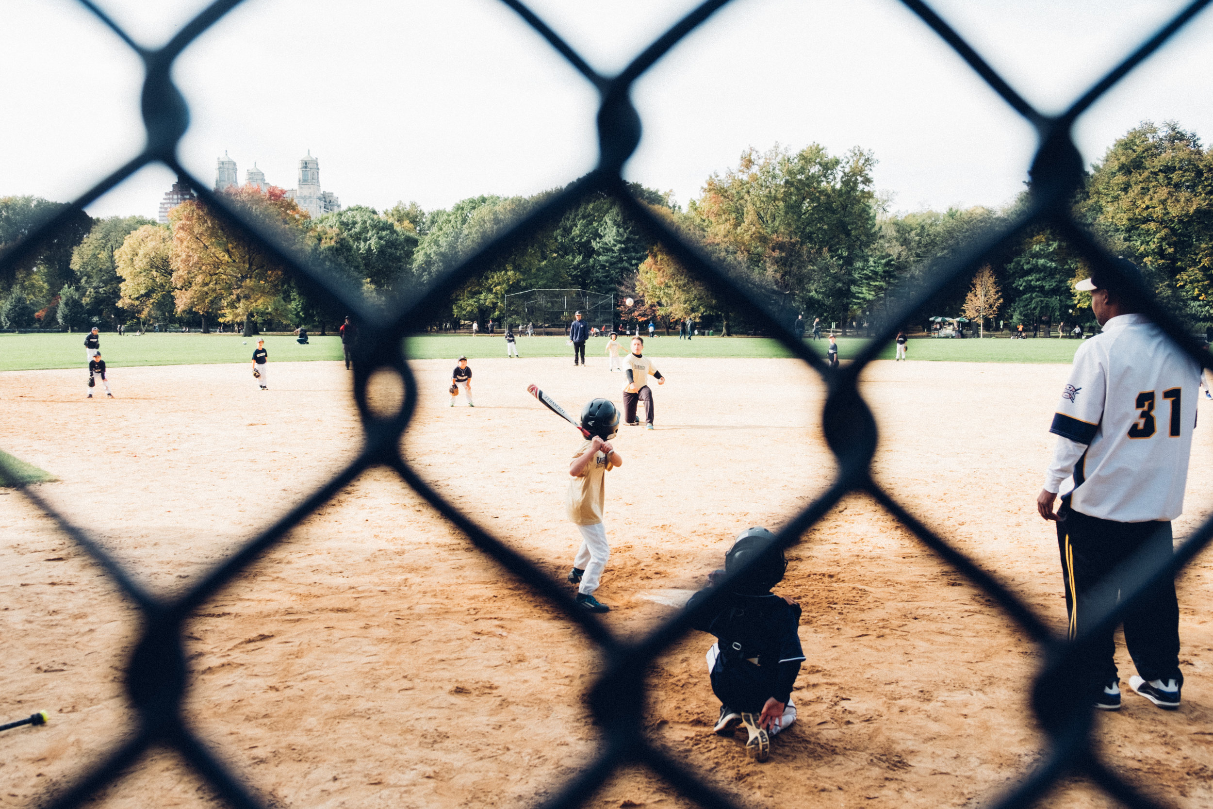 Sunday Game, Central Park, New York