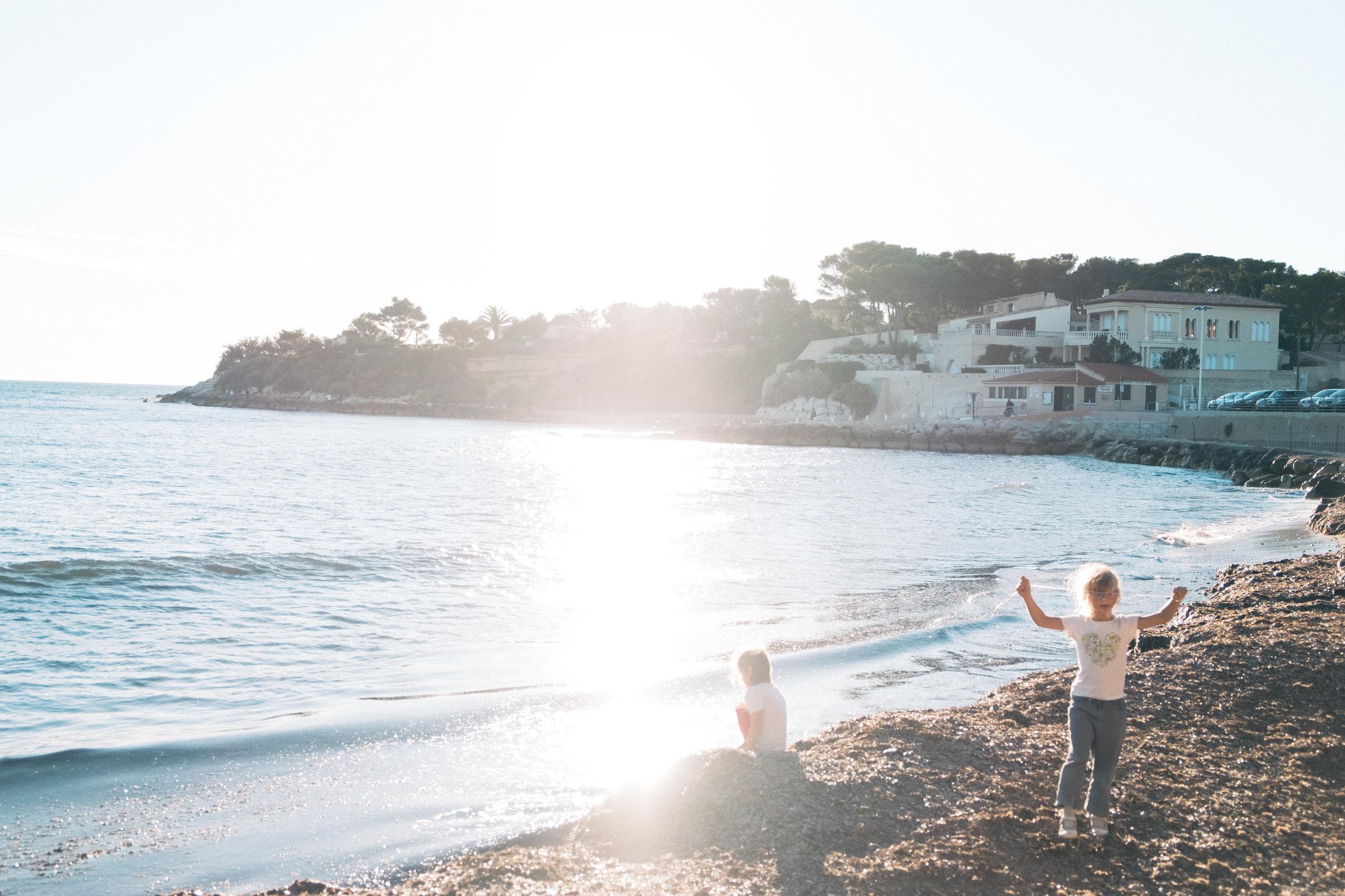 Sunday at the Beach , Provence, France