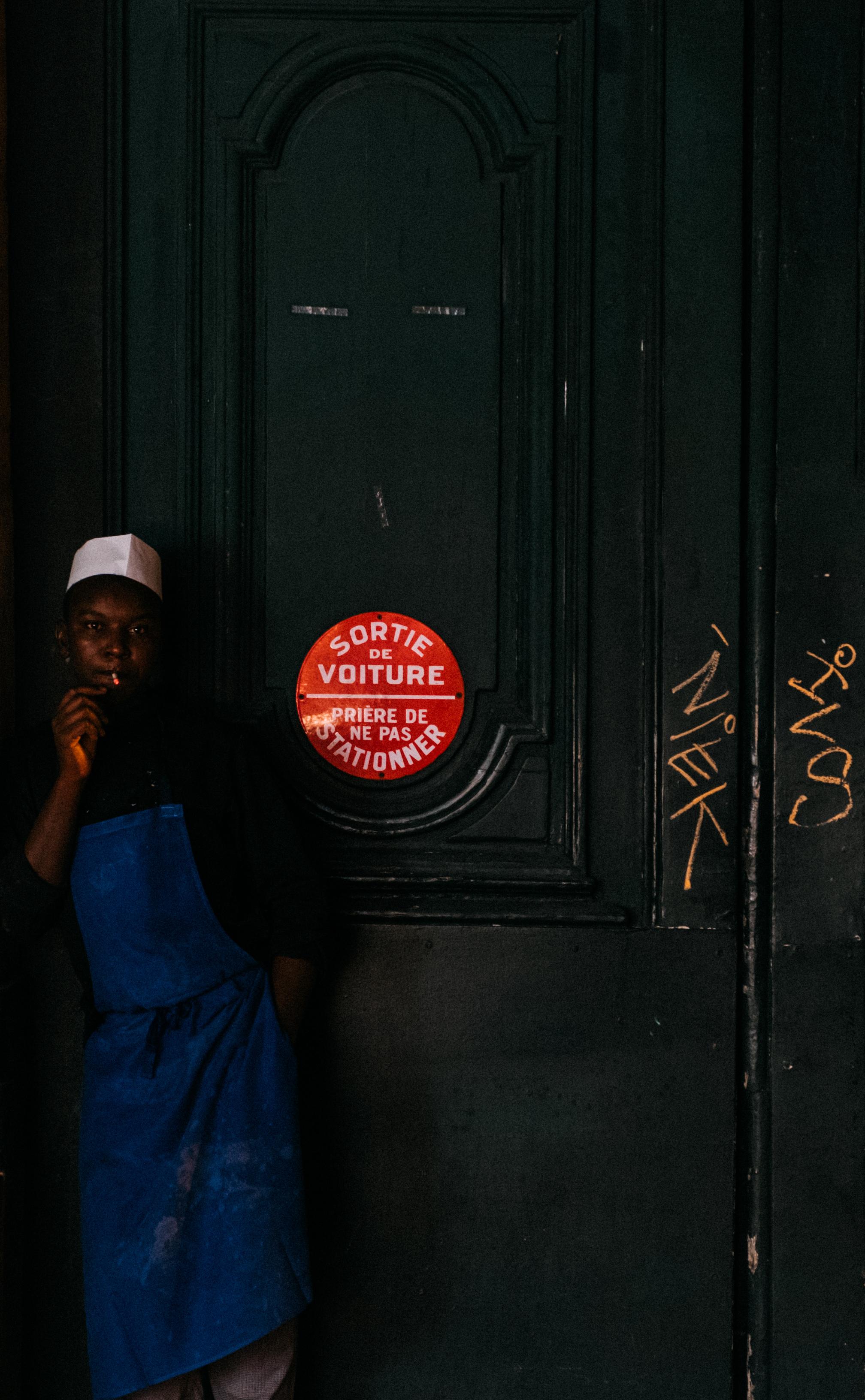 Cigarette Break , Paris