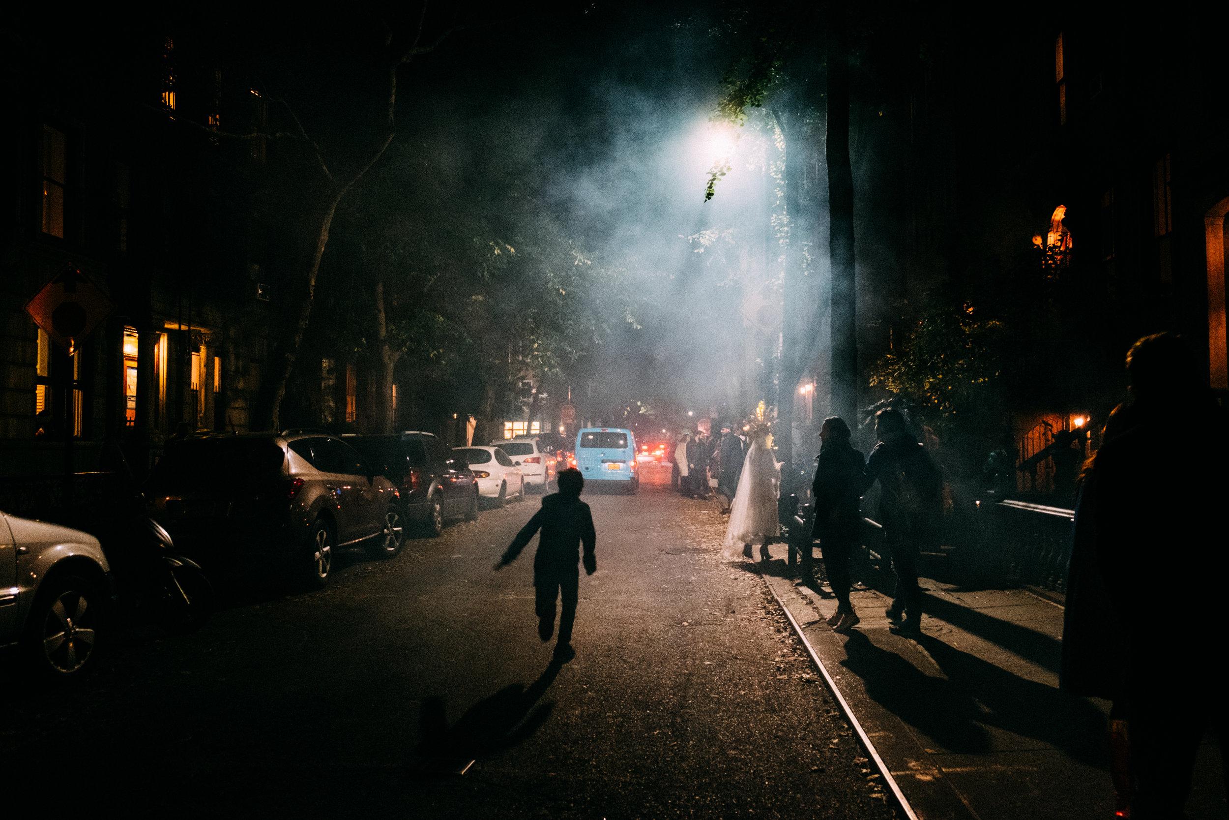 Halloween Night , Greenwich Village, NY