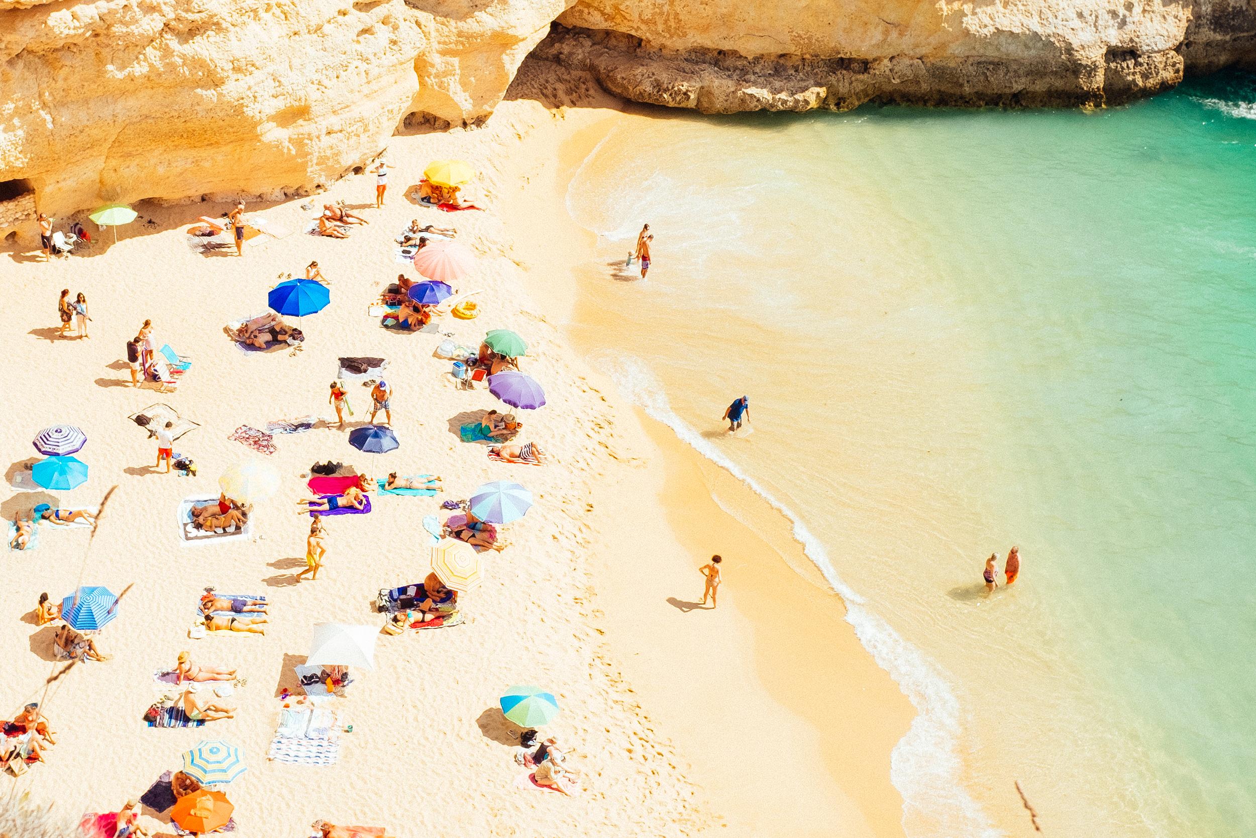 Beach Day, Algarve, Portugal