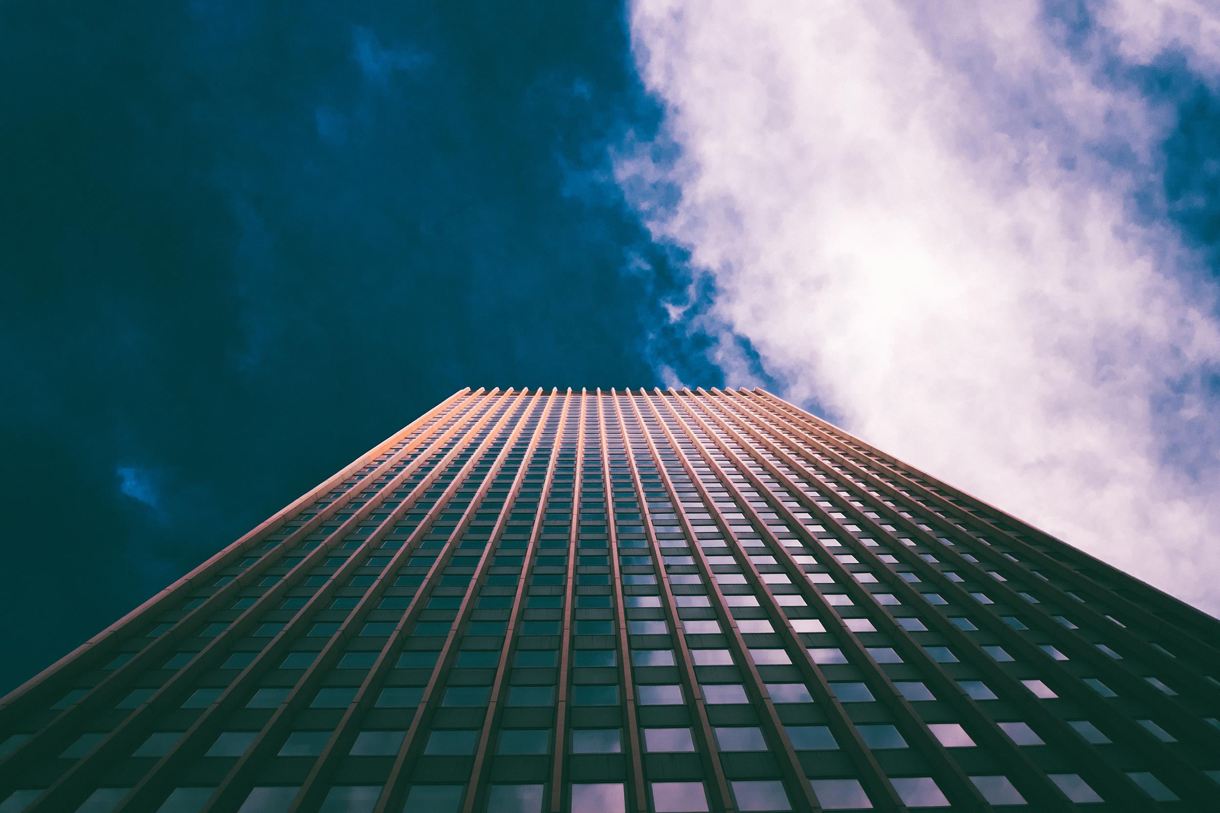 Skyscraper , Manhattan, NY