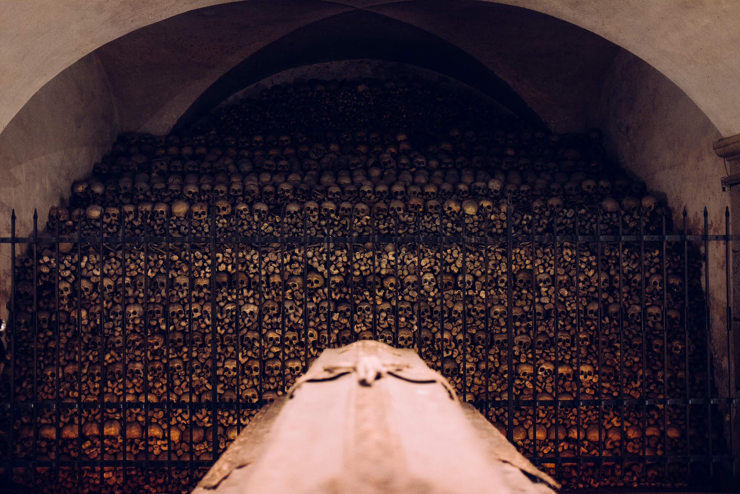 St. Florian Monastery basilica catacombs