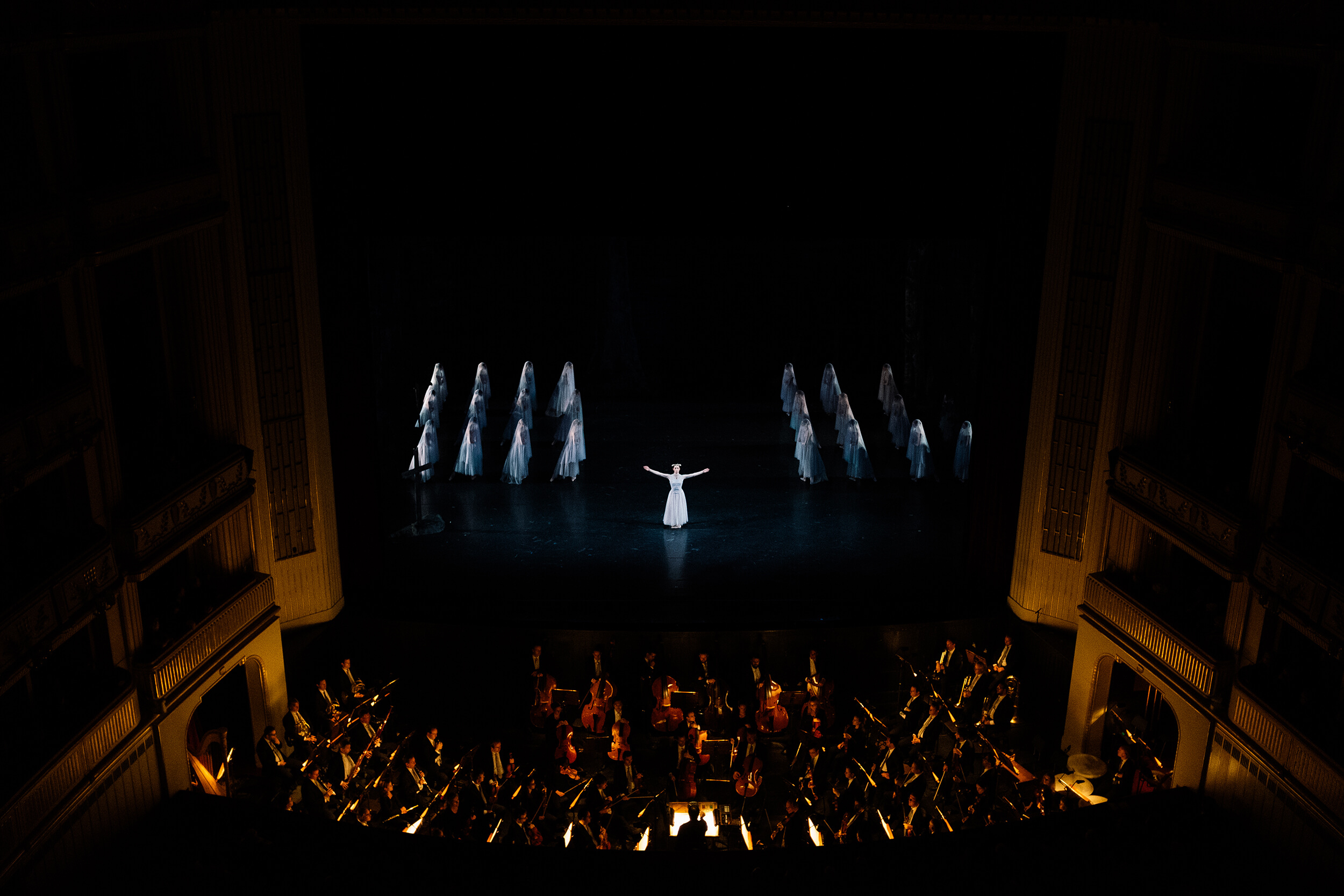 Giselle ballet at the Vienna State Opera