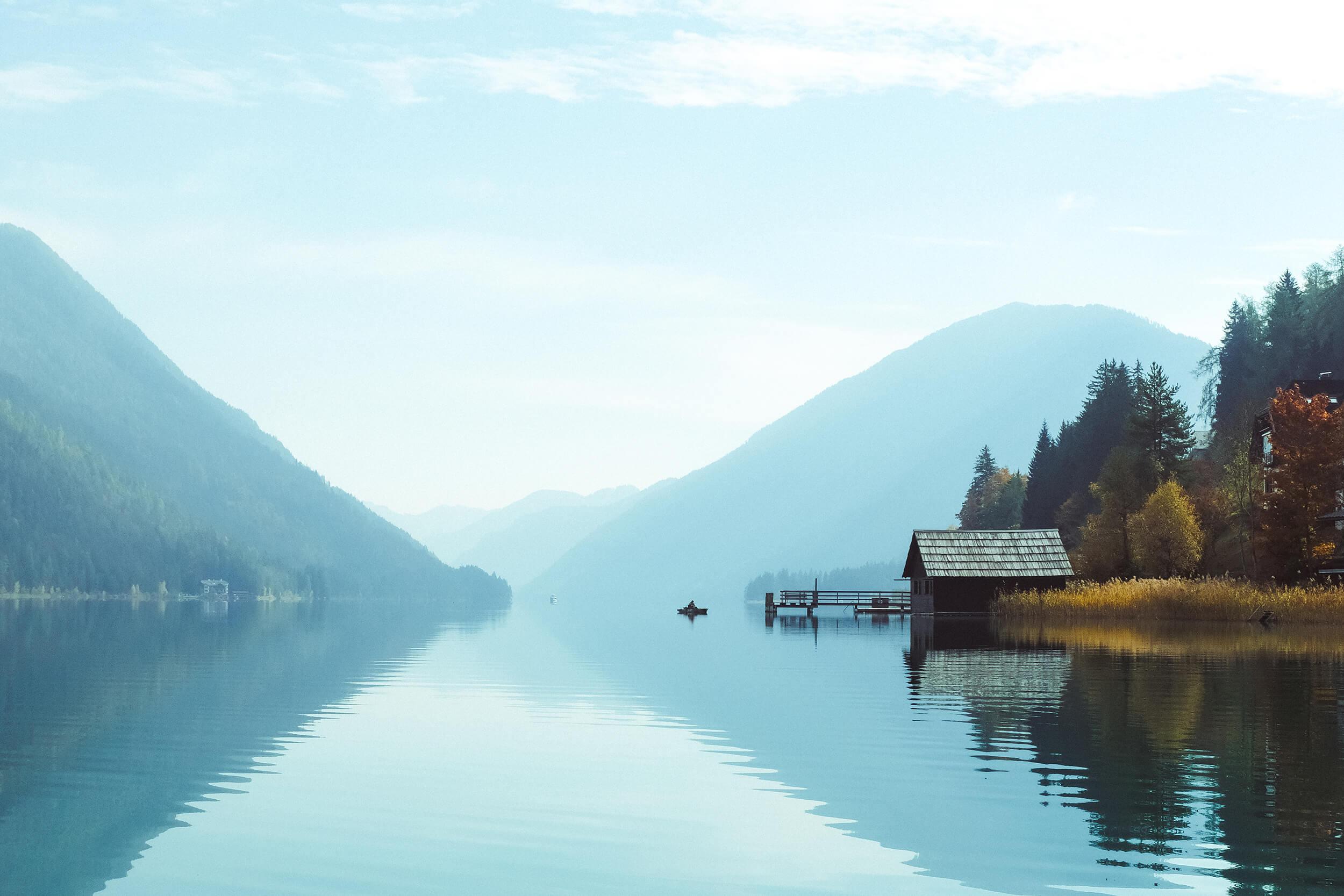 Weissensee Lake visit Austria road trip