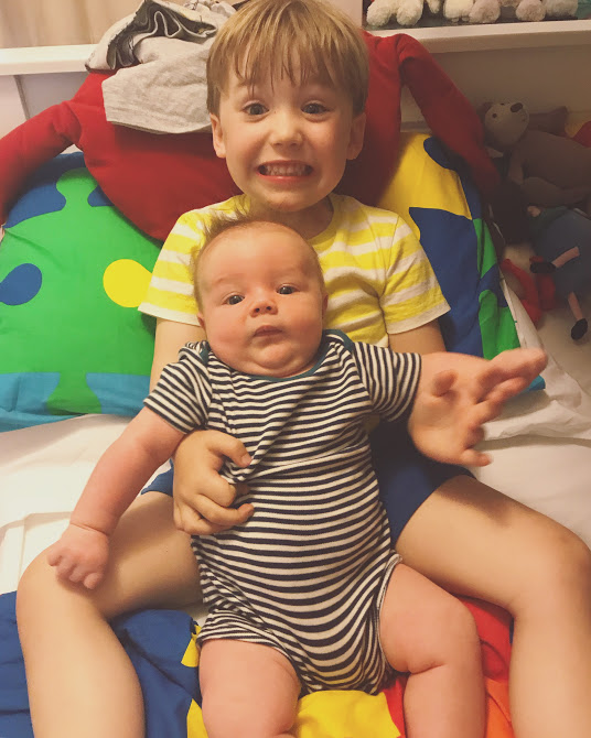 My two vadge wreckers. They make it all worthwhile... but they better change my adult nappies when I'm older without a single complaint.
